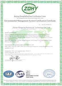 ISO certificated